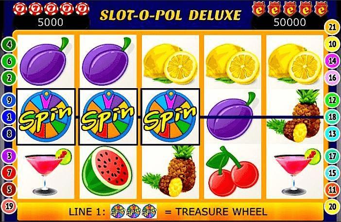 Slot-o-Pol Deluxe символы