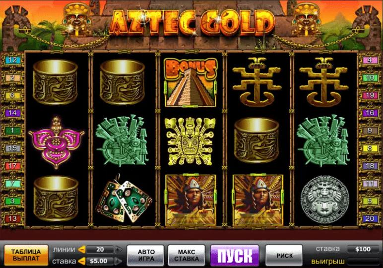 Aztec Gold символы