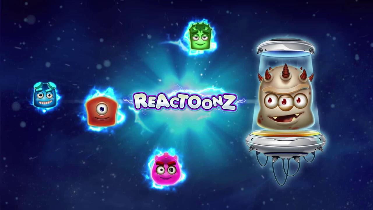 Игровой автомат Reactoonz онлайн