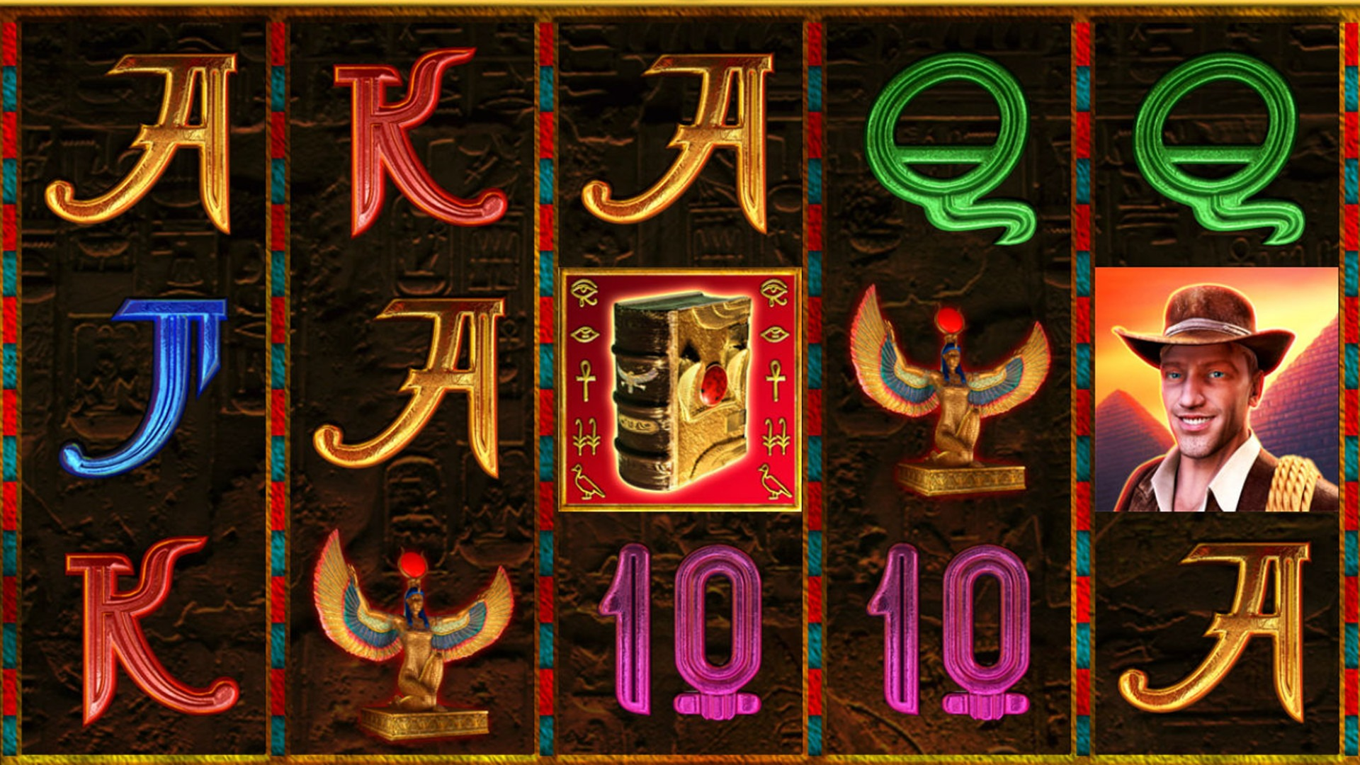 Book of Ra 6 символы